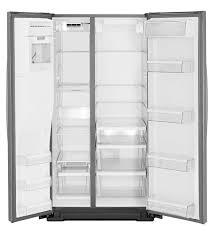 kenmore 51133. american refrigerator / stainless steel in-door-ice® : wrs571cidm whirlpool kenmore 51133