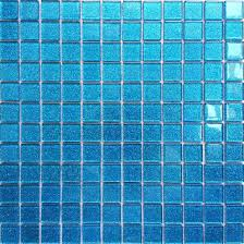 blue tiles. 30x30cm Ocean Blue Glitter Glass Mosaic Tiles Sheet MT0008: Amazon.co.uk: DIY \u0026 Tools