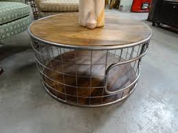 urban industrial furniture. Beautiful Furniture Urban Industrial Furniture Round Cage Coffee Table With Inner Storage  Denver Furniture Store With
