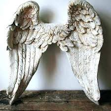 angel wings wall gold angel wings wall decor elegant sculpture hand painted eam white art large angel wings wall