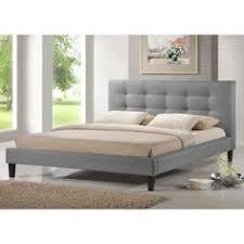 pinterest platform bed. Fine Platform Overstockcom  Baxton Studio Quincy Grey Linen Platform Bed King Size Inside Pinterest O