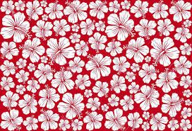 Hawaiian Pattern Gorgeous Photoseamless Floral Pattern Whit Hibiscus Hibiscus Pattern Seamless