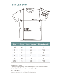 Next Level Shirt Size Chart Best Picture Of Chart Anyimage Org