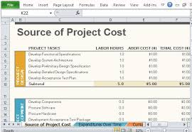how to create a project budget free project budget template for excel 2013