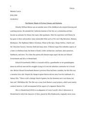 tim burton style analysis film essay tim burton style analysis  5 pages tim burton auteur analysis final paper