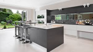 Modern White And Gray Kitchen