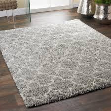 lofty trellis plush area rug gray_ivory plush area rugs f4 rugs
