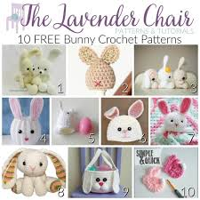 Free Crochet Bunny Pattern Beauteous 48 FREE Bunny Crochet Patterns The Lavender Chair
