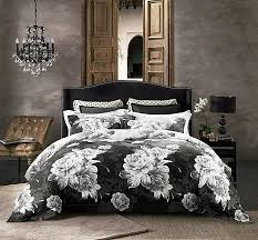 jieshiling egyptian cotton high quality luxury duvet cover bedding set 600 thread count retro nordic europe
