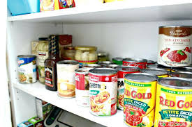 can storage for pantry canned goods and food storage kitchen pantry doors with storage