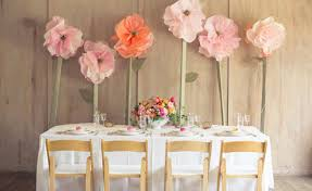 decorating furniture with paper. DIY Decoration Decorations Artificial Flowers Yourself Table  Decorating Furniture With Paper