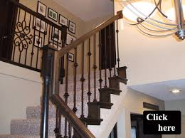 Appealing Wrought Iron Stair Spindles 28 About Remodel Trends Design Ideas  With Wrought Iron Stair Spindles