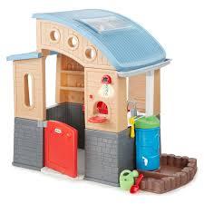 Little Tikes Outdoor Kitchen Little Tikes Go Green Eco Friendly Playhouse Toysrus