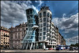 architecture buildings around the world. The Dancing House And Fred Ginger Building Are Common Nicknames Given To Nationale-Nederlanden In Czech Republic. Architecture Buildings Around World U