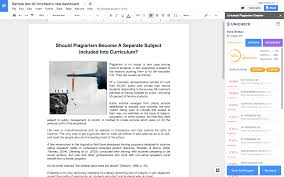 Check My Essay For Plagiarism Free Checking For Plagiarism In Google Docs Edit Where You Write