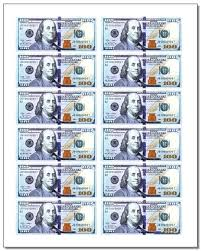 Printable Play Money Printable Play Money Both Currency And Coins These Free