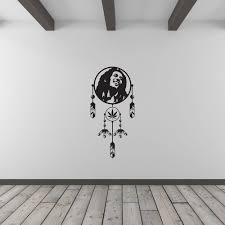 Bob Marley Dream Catcher Bob Marley Dreamcatcher Wall Art Decal Vinyl Revolution 5