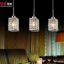 nice crystal chandelier light fixtures 3head modern square led crystal chandeliers dining room lights