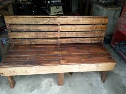 Home Design  Amusing Garden Sofa From Pallets Pallet Patio Pallet Furniture For Outdoors