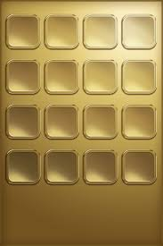 Chocolate Doodle & Gold iPhone iOS 4 Wallpaper 3 Pack [Download