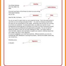 Best Ideas Of Friendly Letter Format Generator New Resume Letter ...