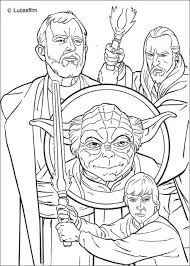 Small Picture Jedi knights and yoda coloring pages Hellokidscom