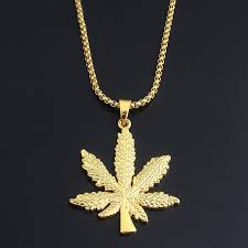 details about gold silver plated maple leaf pendant necklace hip hop men women fashion jewelry