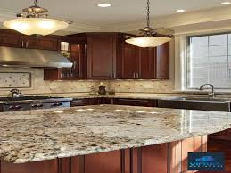 types of kitchen countertops lovely countertop types of kitchen countertops stack stone backsplash