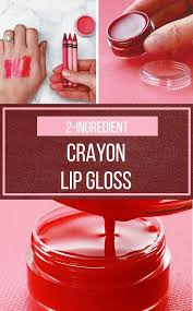 this diy lip gloss won t break the bank but it will break some crayons