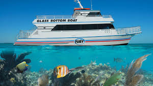 Glass bottom boat rides