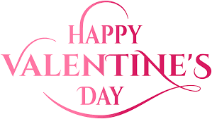 Happy Valentine's Day Pink Text PNG Image | Gallery Yopriceville -  High-Quality Images and Transparent PNG Free Clipart