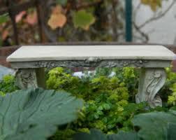 furniture fairy. Fairy Garden Bench Miniature Acessories Furniture R