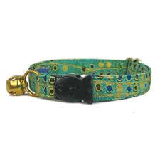 cat collar breakaway green cat collar gold cat collar fancy cat collar custom cat collar safe
