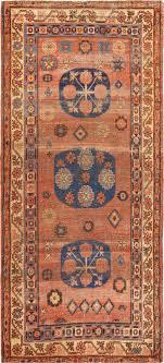 Small Antique Shabby Chic Khotan Rug 49151