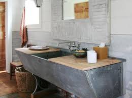 bathroom remodel do it yourself. 20 Repurposed And One-of-a-Kind Bathroom Vanities Photos Remodel Do It Yourself