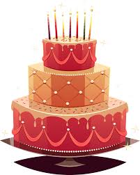 Birthday Cake Vector At Getdrawingscom Free For Personal Use