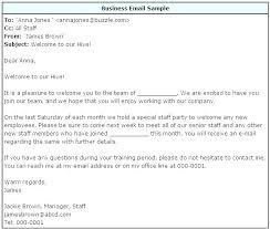 Formal Business Email Format Example Writing Proper For