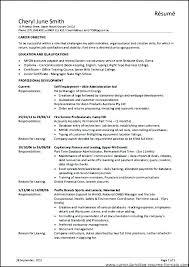 Sample Zoning Supervisor Resume Office Manager Resume Example Thrifdecorblog Com