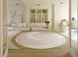 romantic decorating ideas for small living rooms with white round area rug and elegant tree painting