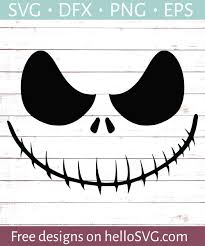 Christmas svg files for silhouette, cricut, sizzix, pazzles, sure cuts a lot, and more. Nightmare Ghoul Smiling Svg Free Svg Files Hellosvg Com