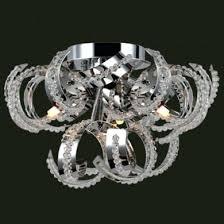 medusa chandelier worldwide lighting medusa 9 light chrome finish and clear crystal flush mount ceiling light