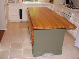 Awe Inspiring Kitchen Island With Drop Leaf And Butcher Block Island  Countertops Also Polished Brass