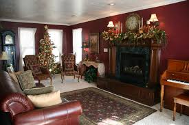 Living Room Christmas Decoration Decorations Simple Christmas Decoration In Formal Living Room