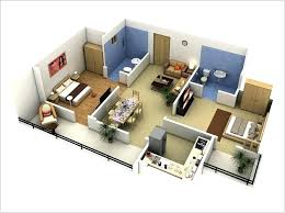 3d 3 bedroom house plans creative 3 bedroom 1 more 3 bedroom floor
