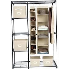 sturdy hanging closet organizer. Wonderful Closet Closet Closet Hanging Organizer Sturdy Home  Design Ideas Bar To