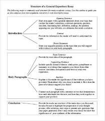 introduction sample essay expository essay template 9 free word pdf documents download
