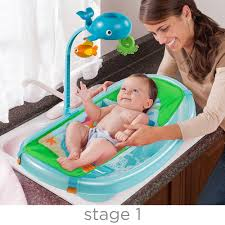 summer infant ocean buds newborn to toddler baby tub with toy bar summer infant babies r us