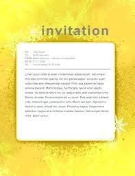 Dinner Party Invitation Template Sample Printable Throughout