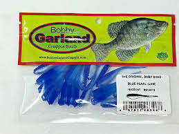 Bobby Garland Baby Shad Color Chart Bobby Garland Crappie Baits Baby Shad Pearl Chartreuse