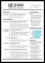 Years Experience Java Php Web Developer Resume Template Junior For ...